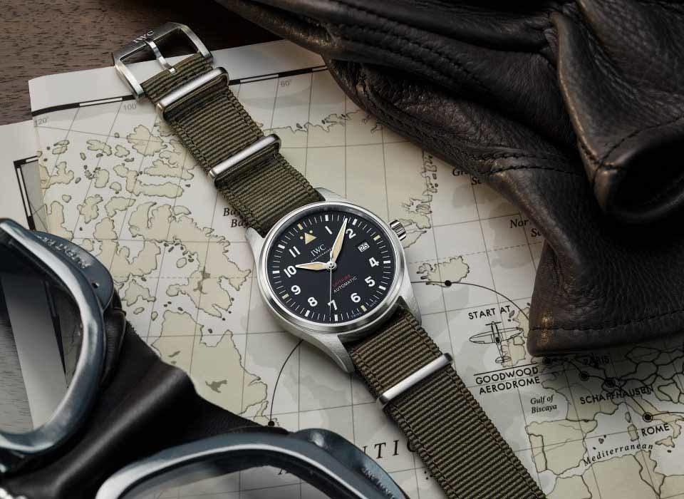 ba12d0577a88 Reloj de Aviador UTC Spitfire. Edición MJ271